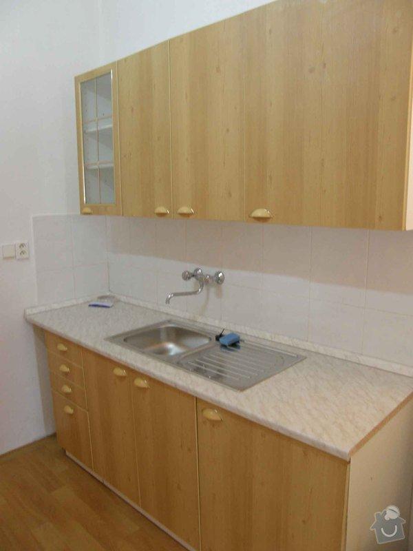 Renovace bytů: kuchyn