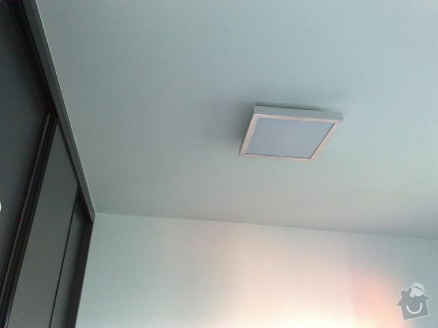 Vyvrtání a uchycení světla + LCD televizi namontovat na zeď: 25112010146