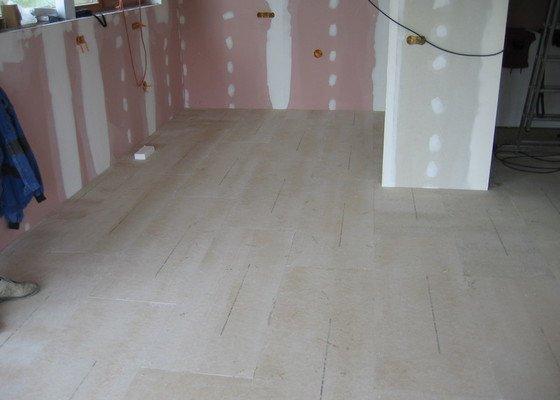 Sádrokartony, podlahy, izolace