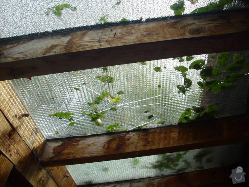 Sklenářské práce (drátěné sklo): sklo