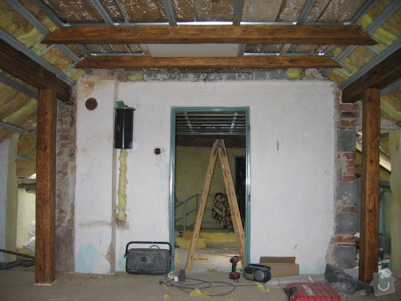 Sádrokartony,podlahy,izolace,zednické práce: IMG_1775