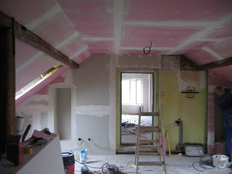 Sádrokartony,podlahy,izolace,zednické práce: IMG_1813