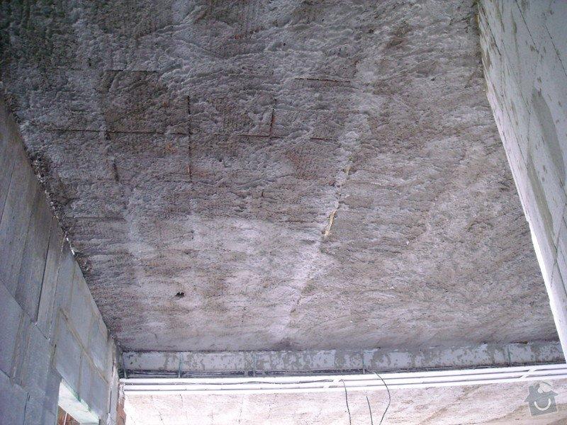 Omítání stropů - špryc + štuk: sn_mek