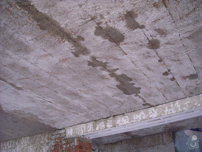 Omítání stropů - špryc + štuk: sn_mek_002