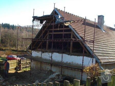 Zhotovení střechy komplet: strecha33