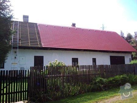 Zhotovení střechy komplet: strecha34