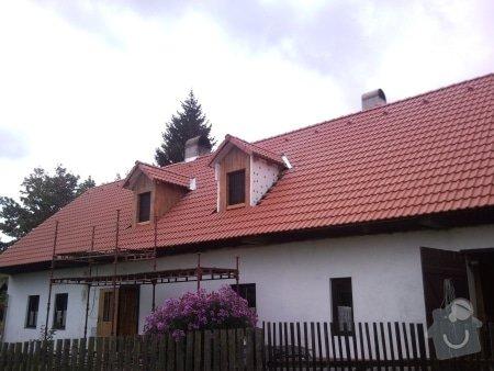 Zhotovení střechy komplet: strecha35