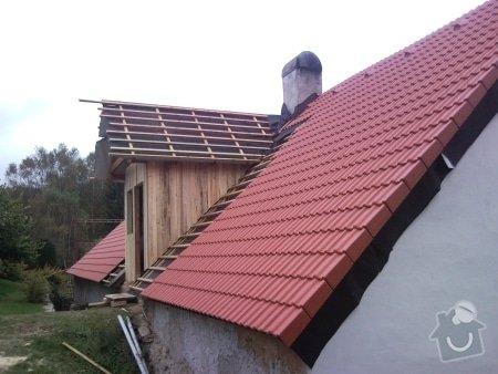 Zhotovení střechy komplet: strecha38