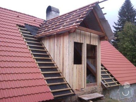 Zhotovení střechy komplet: strecha39
