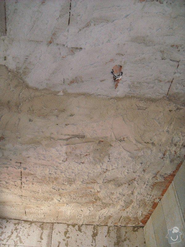 Omítání stropů - špryc + štuk: sn_mek_011