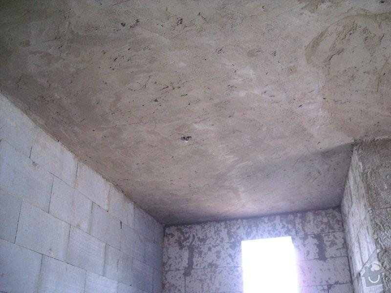 Omítání stropů - špryc + štuk: sn_mek_013