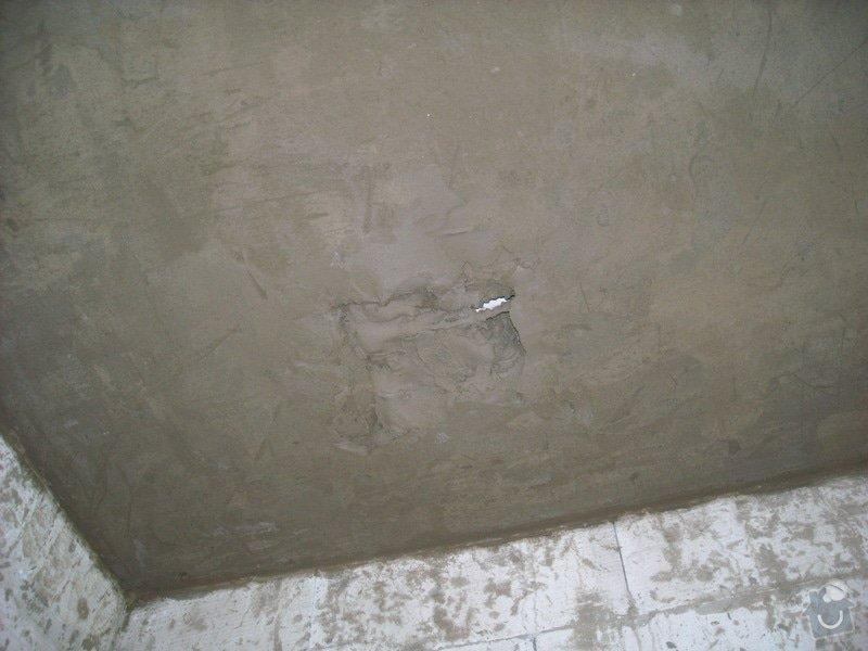 Omítání stropů - špryc + štuk: sn_mek_024