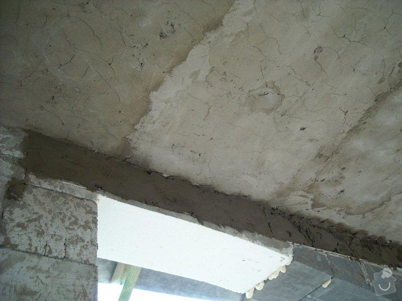 Omítání stropů - špryc + štuk: sn_mek_035