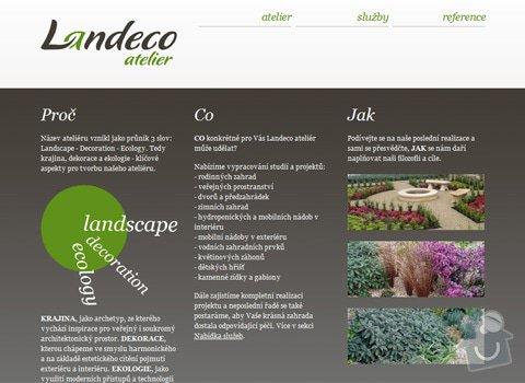 Design logotypu a webu pro Landeco atelier: 23_img1