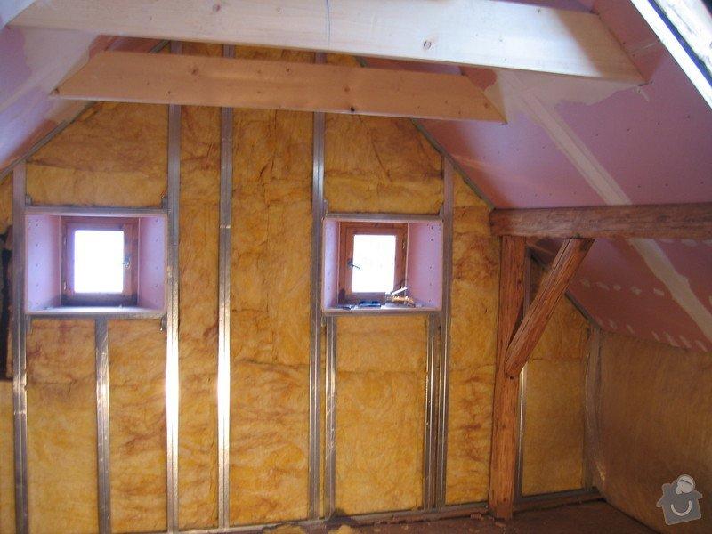 Sádrokartony, podlahy, izolace, zednické práce: IMG_2204