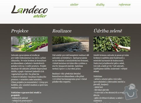 Design logotypu a webu pro Landeco atelier: 23_img2