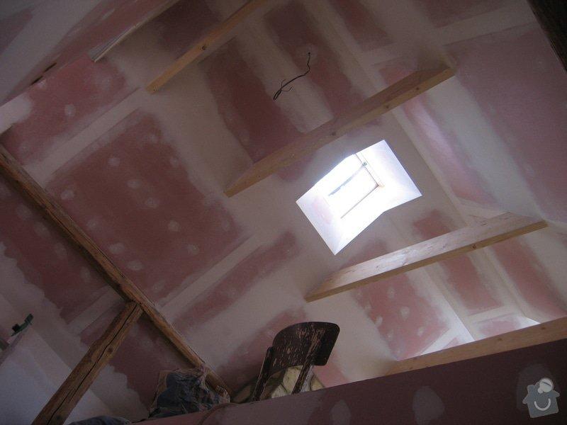 Sádrokartony, podlahy, izolace, zednické práce: IMG_2267