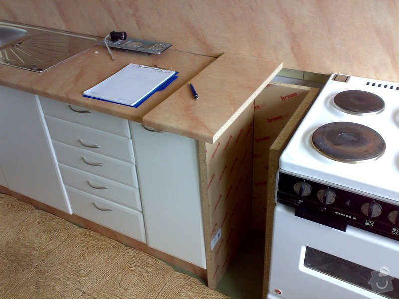Renovace kuchyňské linky: 04072008503