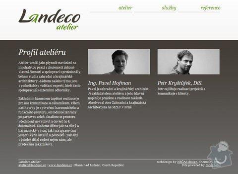Design logotypu a webu pro Landeco atelier: 23_img3