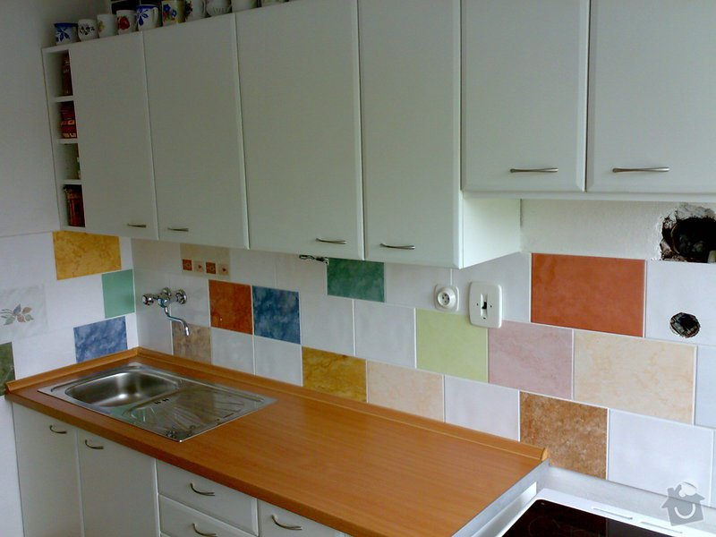 Renovace kuchyňské linky: 15082008571