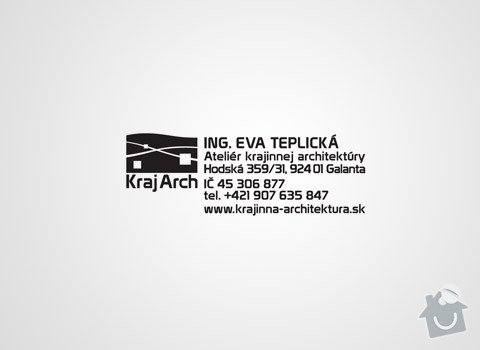 Design logotypu KrajArch: 19_img3