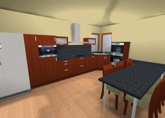 Kuchyňská linka na zakázku