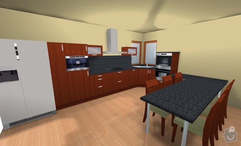 Kuchyňská linka na zakázku: mullerova