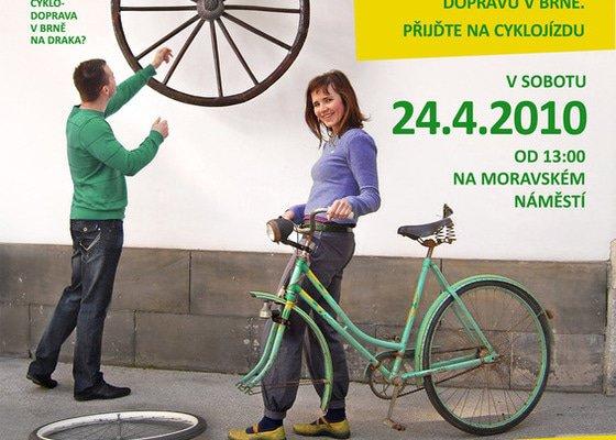 Grafika pro Brno na kole o.s.