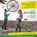 Grafika pro brno na kole o s cyklojizda plakat