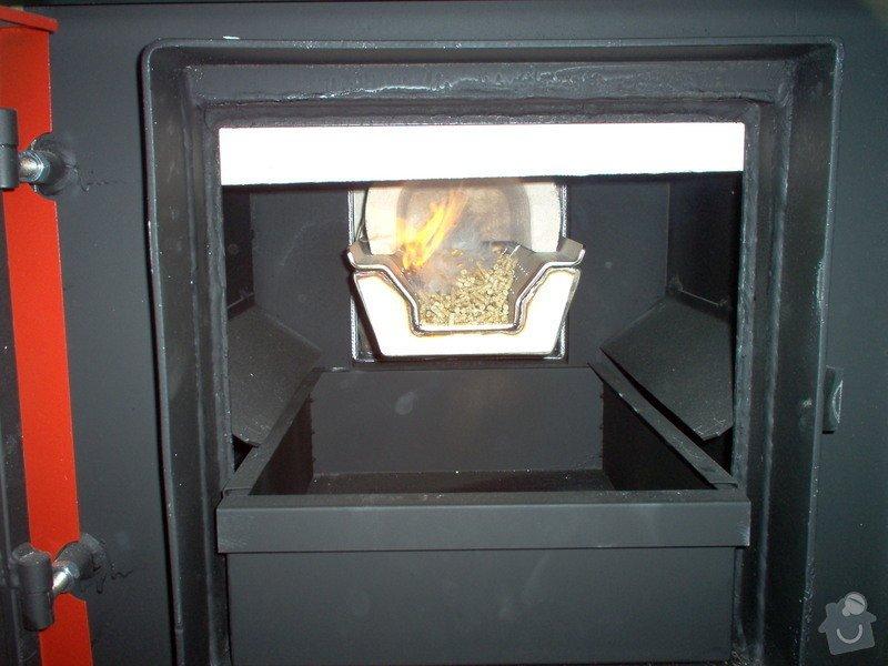 Automatická - peletová kotelna s KP51: IM000150