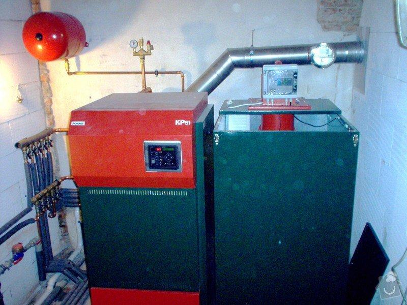 Automatická - peletová kotelna s KP51: IM000158