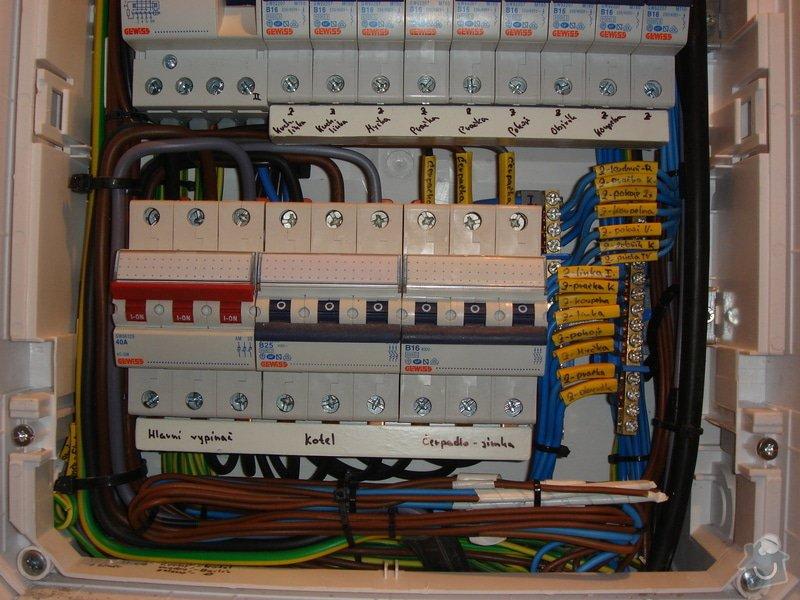 Montáž nového domovního rozvaděče, včetně vystavení revizní zprávy: elektro-holub2_005