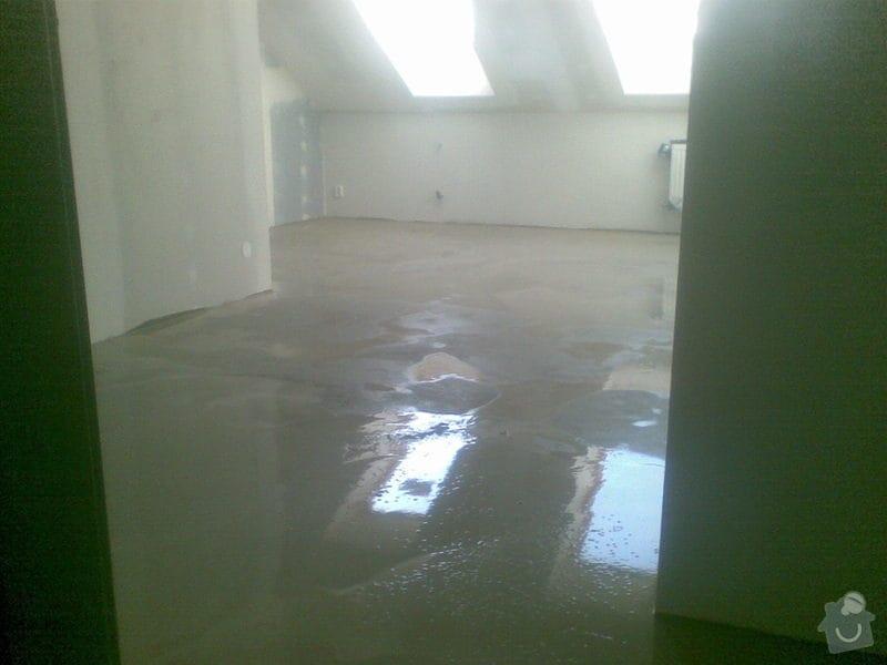 Vyrovnání betonových podlah: 05112010