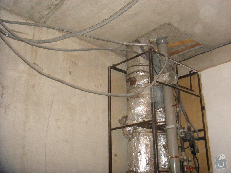 Nová elektroinstalace v koupelnovém jádře + nový rozvaděč + revize: 016