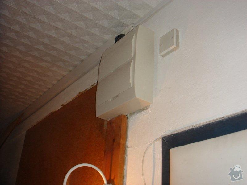 Nová elektroinstalace v koupelnovém jádře + nový rozvaděč + revize: elek_015