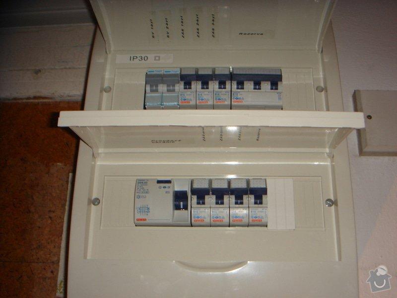 Nová elektroinstalace v koupelnovém jádře + nový rozvaděč + revize: elek_016