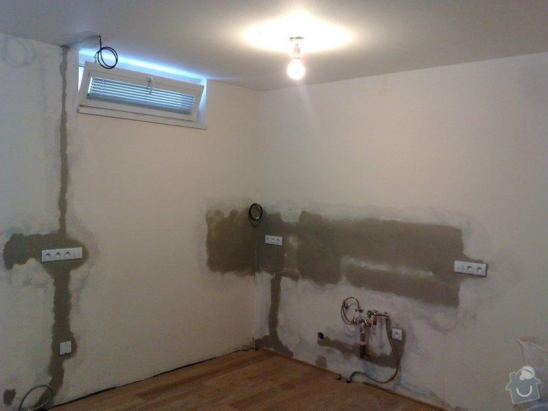 Rozvod elektroinstalace pro novou kuchyň: 17122010312