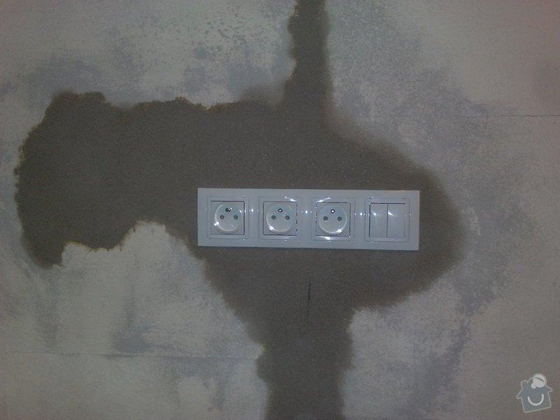 Rozvod elektroinstalace pro novou kuchyň: 17122010313