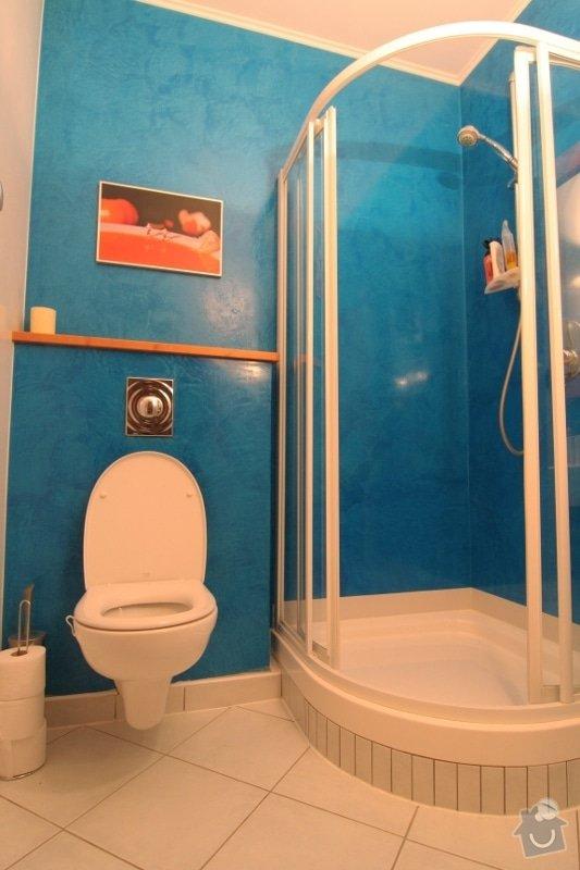 Benátský štuk ve sprchovém koutě místo obkladů: 2-sprchovy-kout