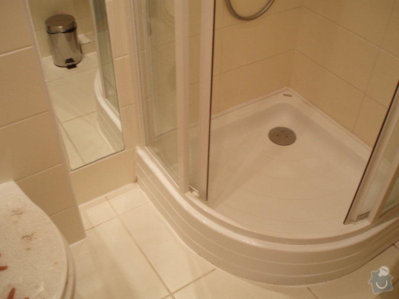 Vymena sprchoveho koutu: pred