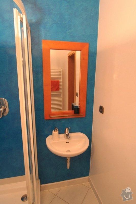 Benátský štuk ve sprchovém koutě místo obkladů: 5-umyvadlo-a-stuk