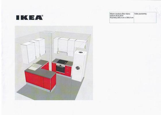 Sestaveni a montaz kuchyne Ikea vcetne pripravy elektroinstalaci