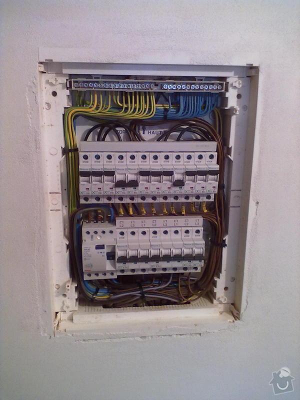 Kompletace elektroinstalace: 22122010029