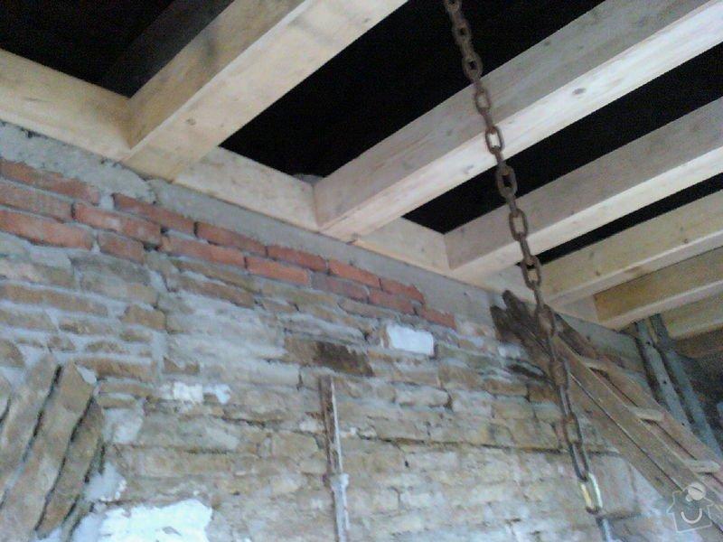 Rekonstrukce chalupy: 100801_151147