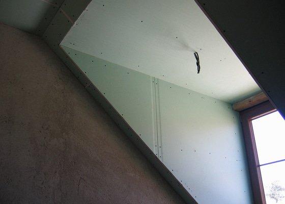 Sádrokartony,izolace,skládací schody