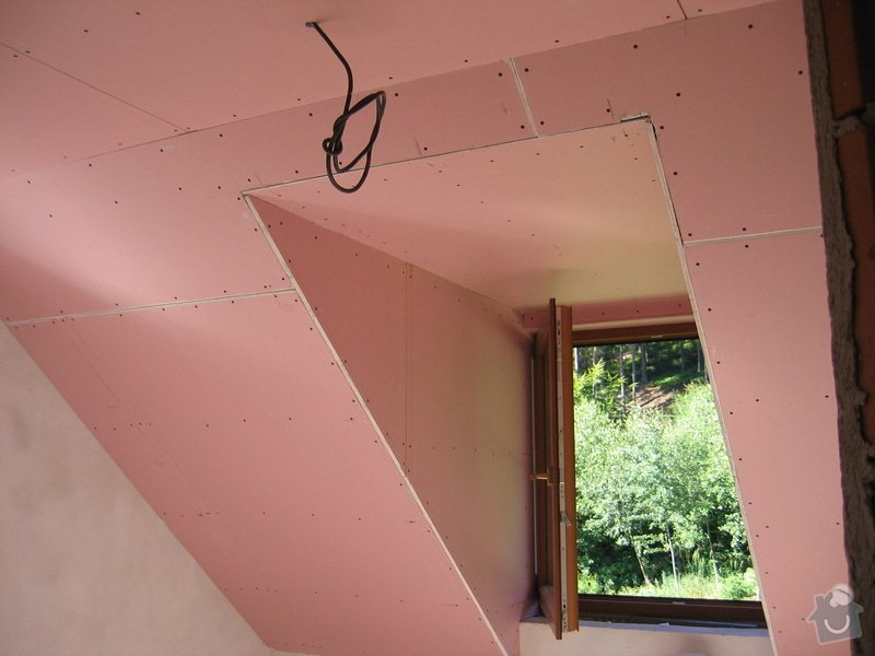 Sádrokartony,izolace,skládací schody: IMG_2979