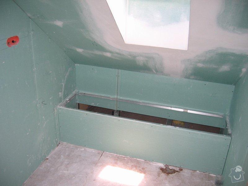 Sádrokartony,izolace,střešní okna: 2007_011