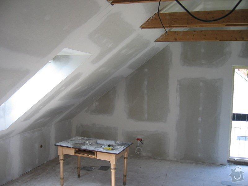 Sádrokartony,izolace,střešní okna: 2007_014