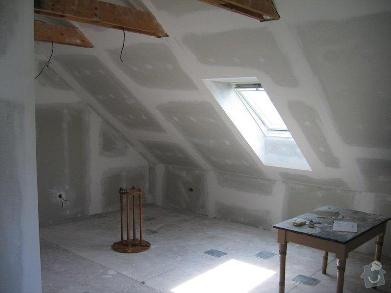 Sádrokartony,izolace,střešní okna: 2007_017