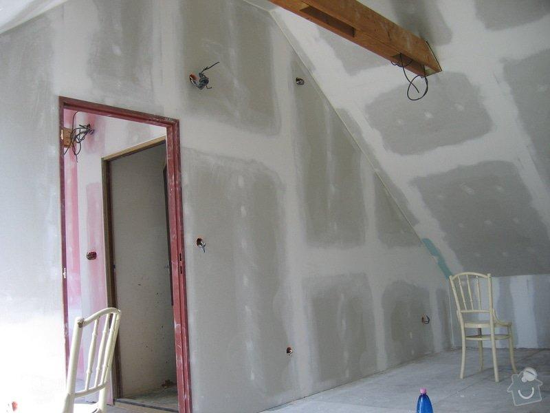 Sádrokartony,izolace,střešní okna: 2007_021